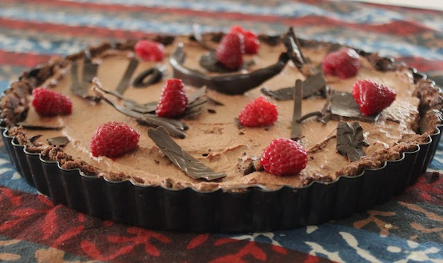 Dark Chocolate Tart Shell