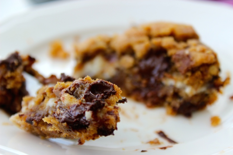 yummy cookie cheesecake bars