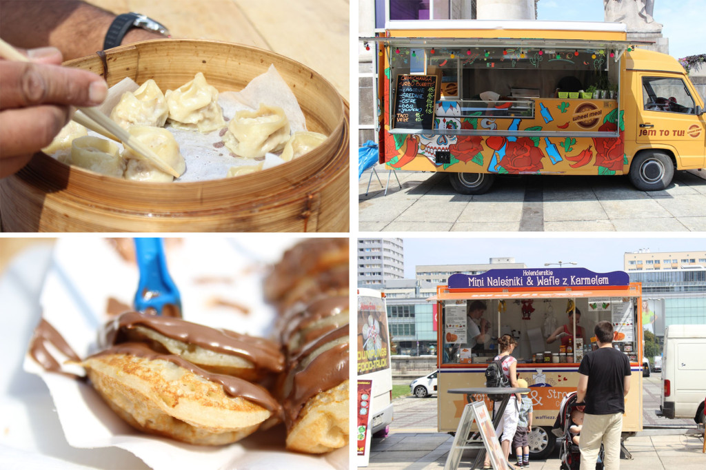 food truck collage