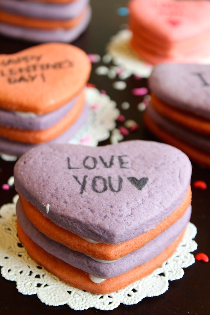 Perfect Valentine's Day Cookies- Heart Piñata Cookies that you can't go wrong with!