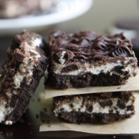 No-Bake Cookies and Cream Bars. The solution to every problem. #nobake #hotchocolatehits