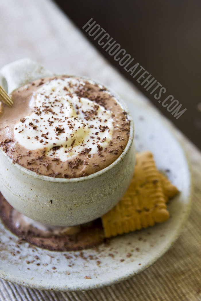 A rich, European-Style Hot Chocolate made using real chocolate.