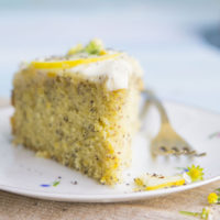 When life gives you lemons, ditch the lemonade. Make this lemon poppy seed cake instead.