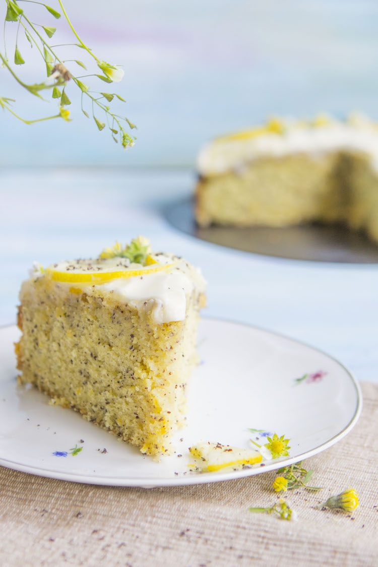 When life gives you lemons, ditch the lemonade- make a lemon poppy seed cake instead
