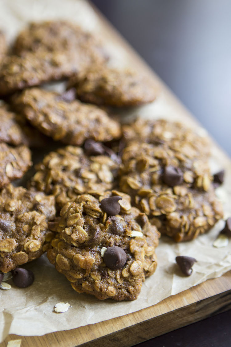 A batch of these soft, chewy and secretly healthier oatmeal cookies will have you going back for seconds and thirds.