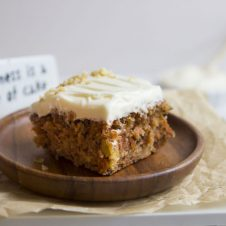 Once you try this moist, fluffy carrot cake recipe, you'll want none other.