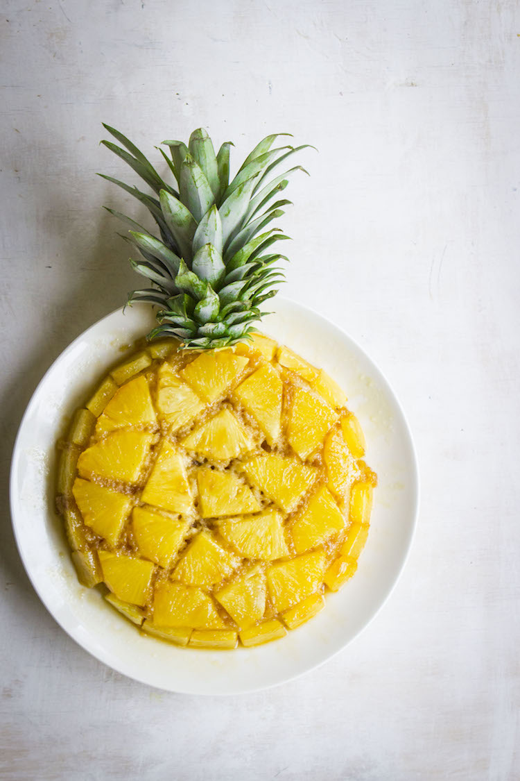 The best pineapple upside-down cake recipe. #hotchocolatehits