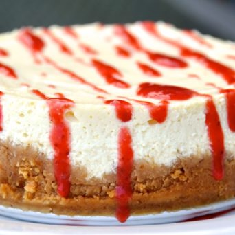 Berry Delicious Cheesecake. The Cake That Causes Diabetes