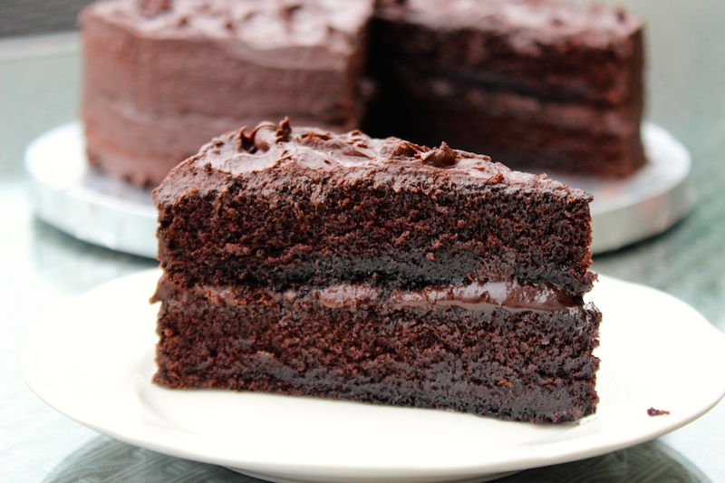 Rich Chocolate Cake From Scratch