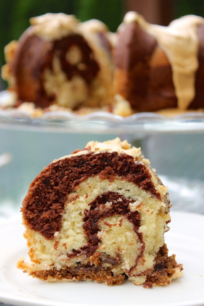 coffee, chocolate and vanilla coffee cake by hot chocolatehits #coffee #cake #breakfast