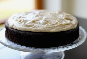 Celebrate St. Patrick's Day with a moist Guinness chocolate cake served with brown butter cream cheese icing.