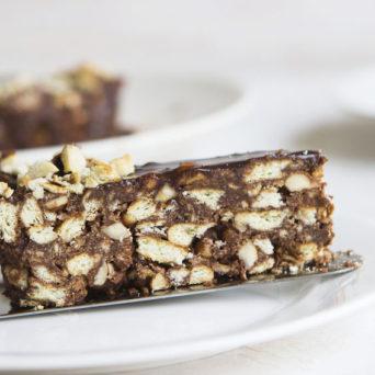 No-Bake Hazelnut Chocolate Fridge Cake