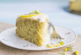 When life gives you lemons, ditch the lemonade. Make this lemon poppy seed cake instead.