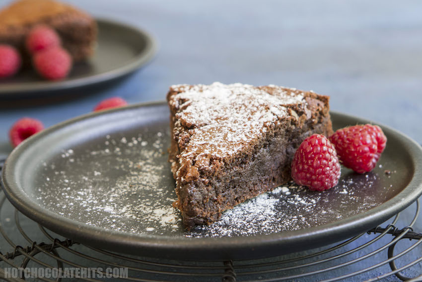 One-Pot Fudgy Chocolate Brownie Cake Recipe
