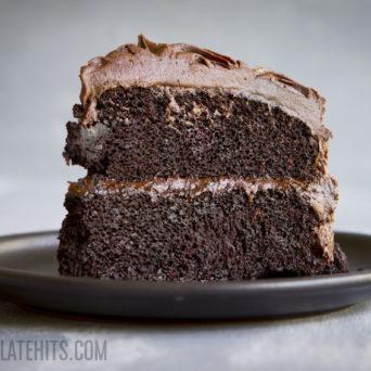The Best (Vegan) Chocolate Cake II