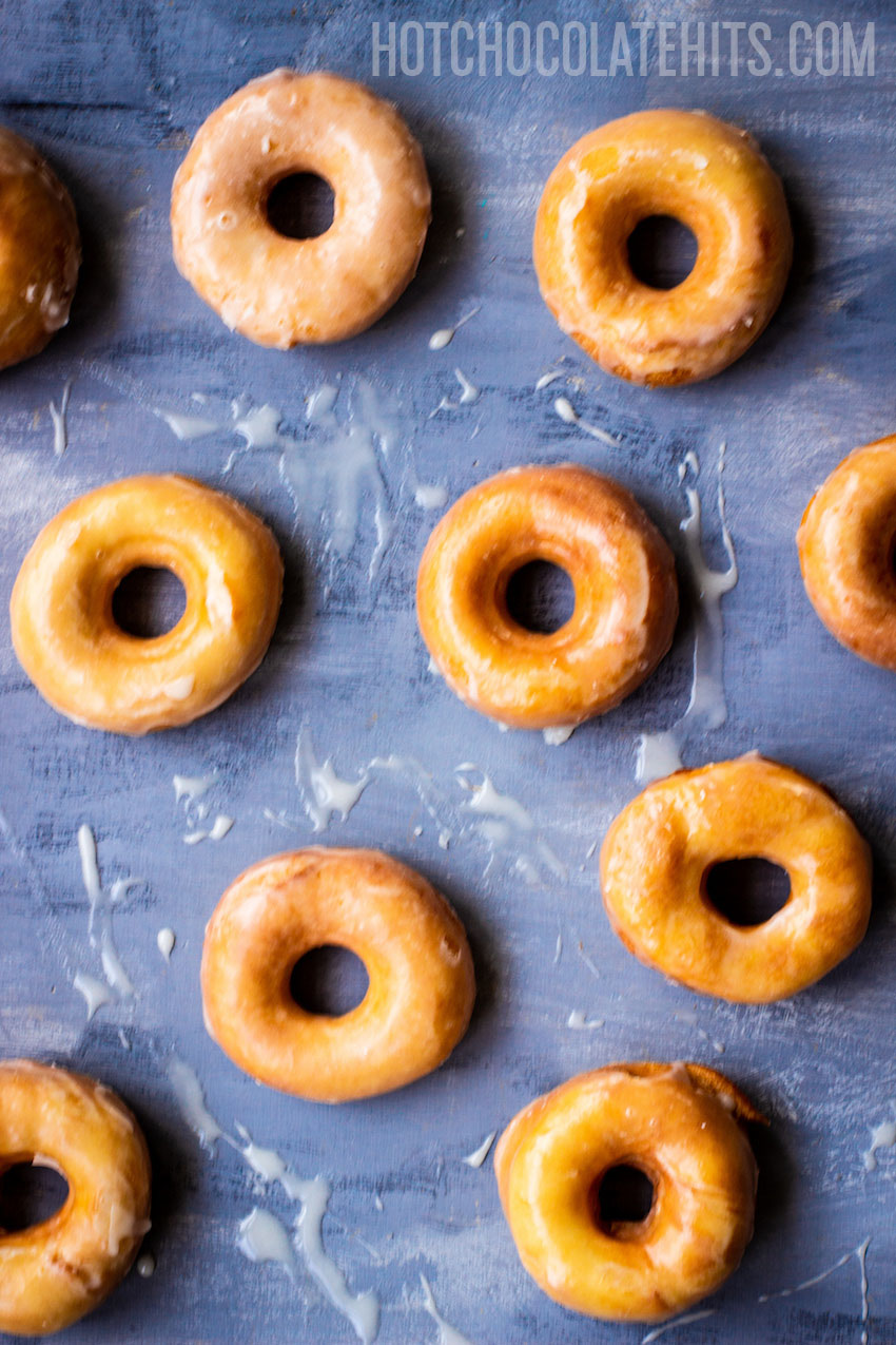 the best homemade glazed doughnuts