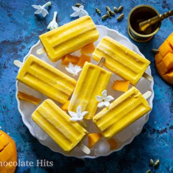 Easy Mango Lassi Popsicles