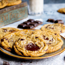 soft, chewy vegan chocolate chip cookies